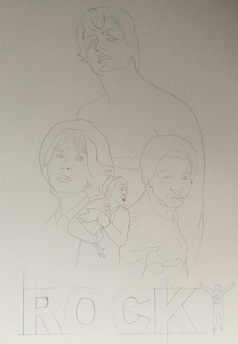Mi Proyecto del curso: Del dibujo a lápiz a la ilustración digital 1
