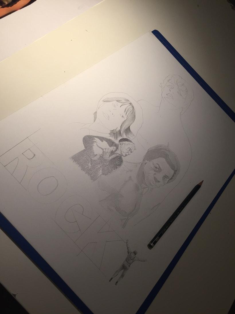 Mi Proyecto del curso: Del dibujo a lápiz a la ilustración digital 2