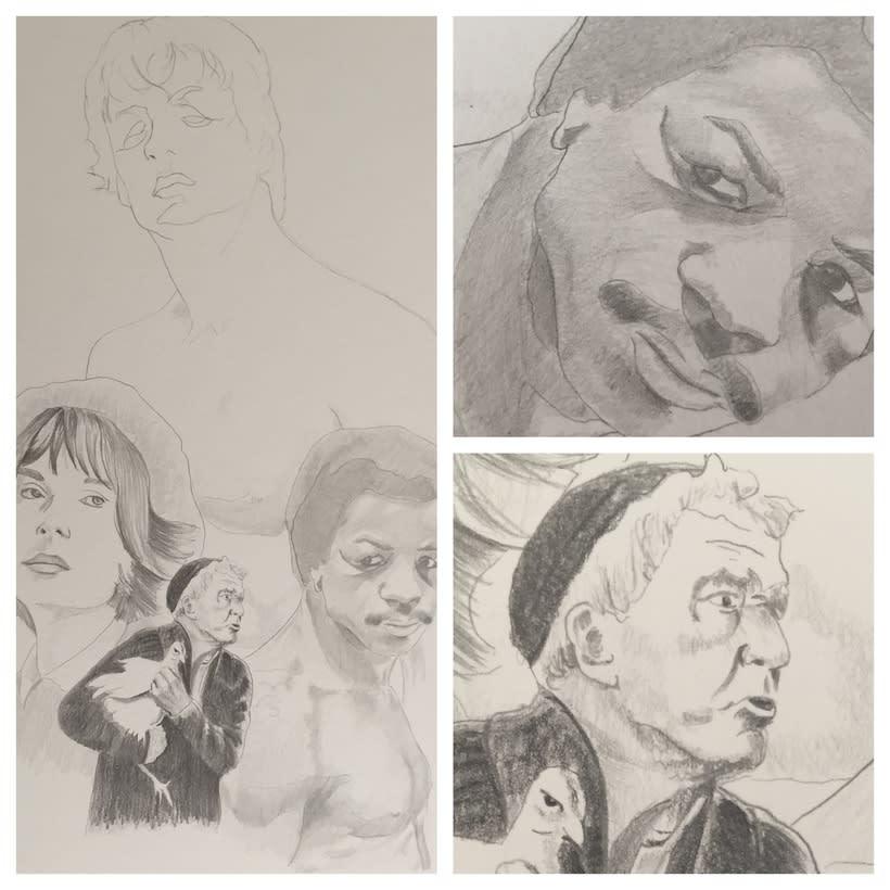Mi Proyecto del curso: Del dibujo a lápiz a la ilustración digital 3