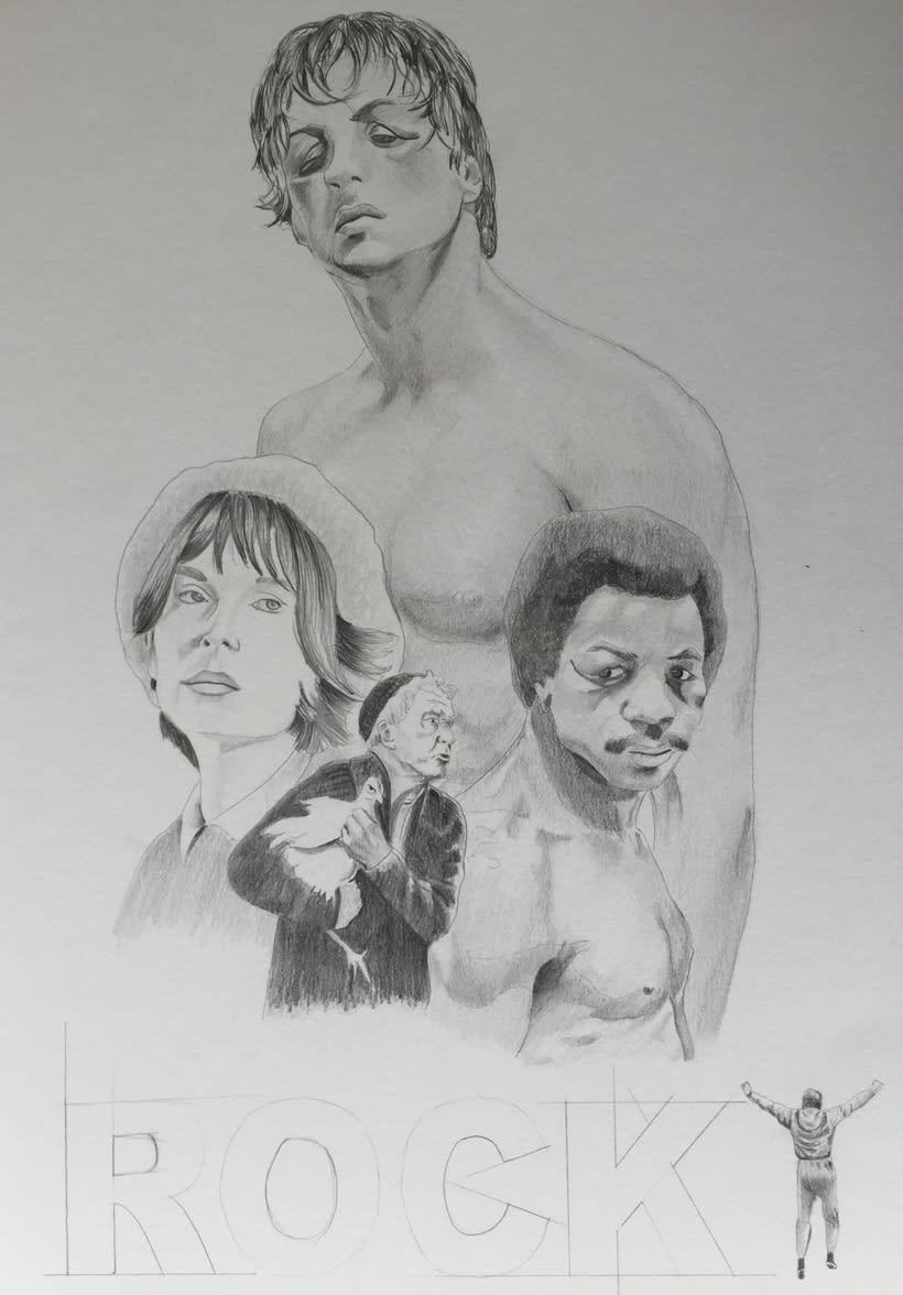 Mi Proyecto del curso: Del dibujo a lápiz a la ilustración digital 4