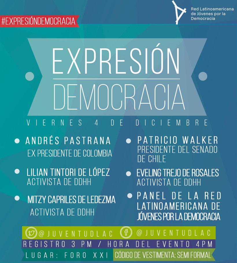 Red Latinoamericana de Jóvenes por la Democracia -1