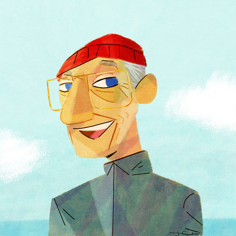 Cousteau. Curiosities by J. Escudero 1