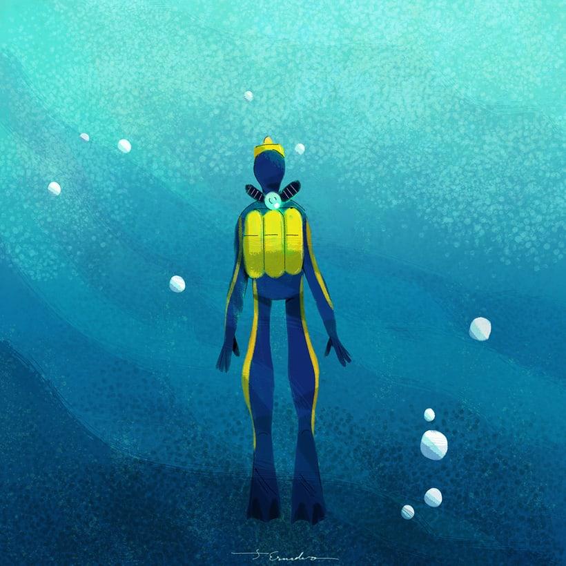 Cousteau. Curiosities by J. Escudero 0