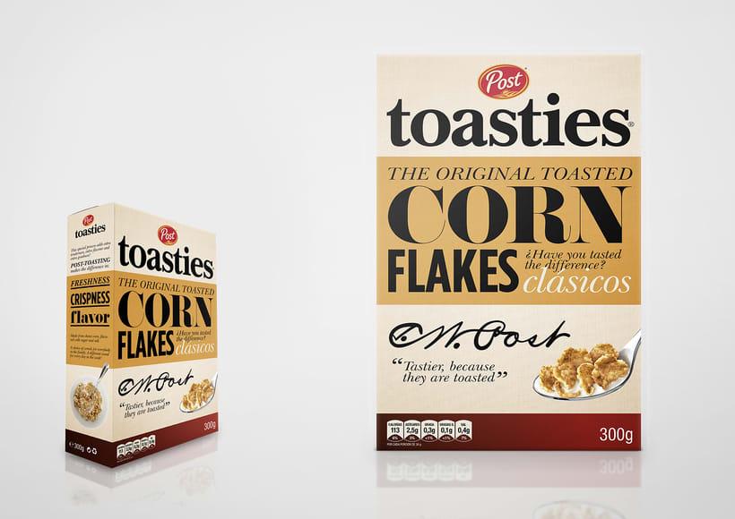 Post Toasties - cereales 0