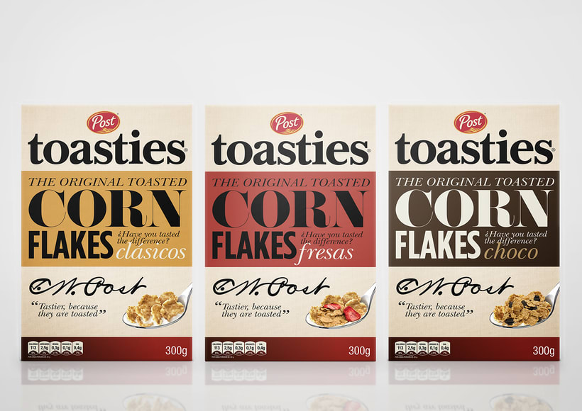Post Toasties - cereales 3