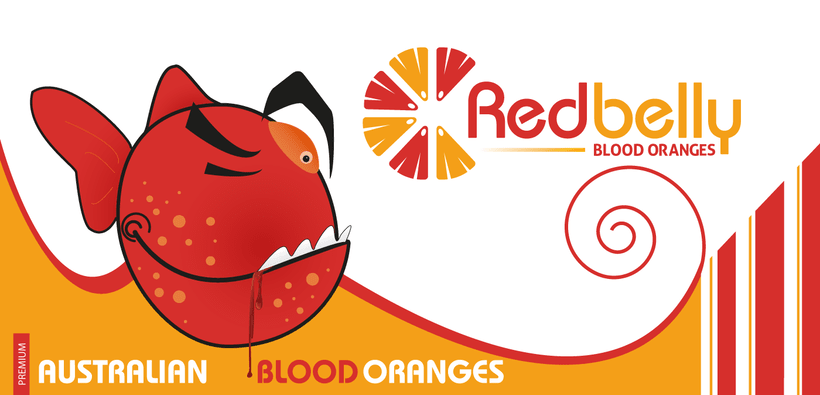 Redbelly. Blood Oranges. PACKAGING. 0