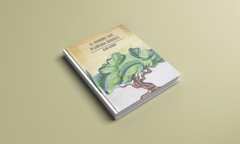 Cubierta para ''El hombre que plantaba árboles''  -1