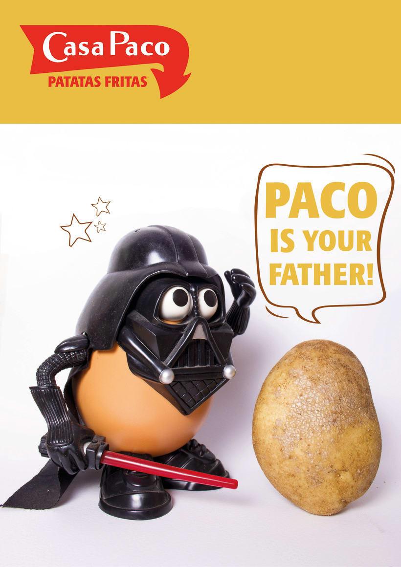 """Campaña publicitaria para """"Casa Paco"""" 1"""