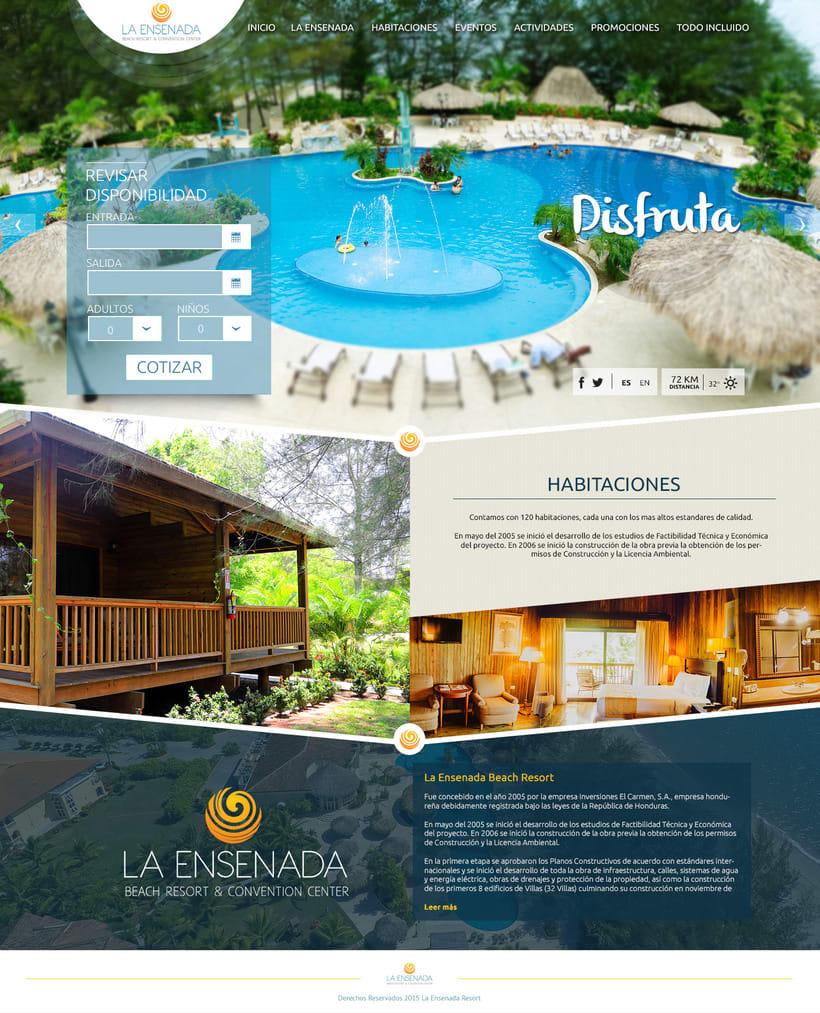 Pagina web - La Ensenada Resort -1