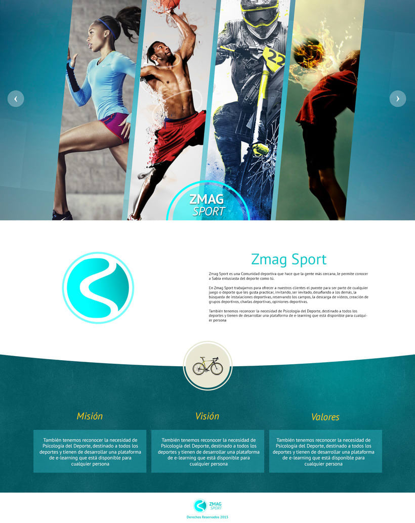 Pagina web - Zmag Sport -1
