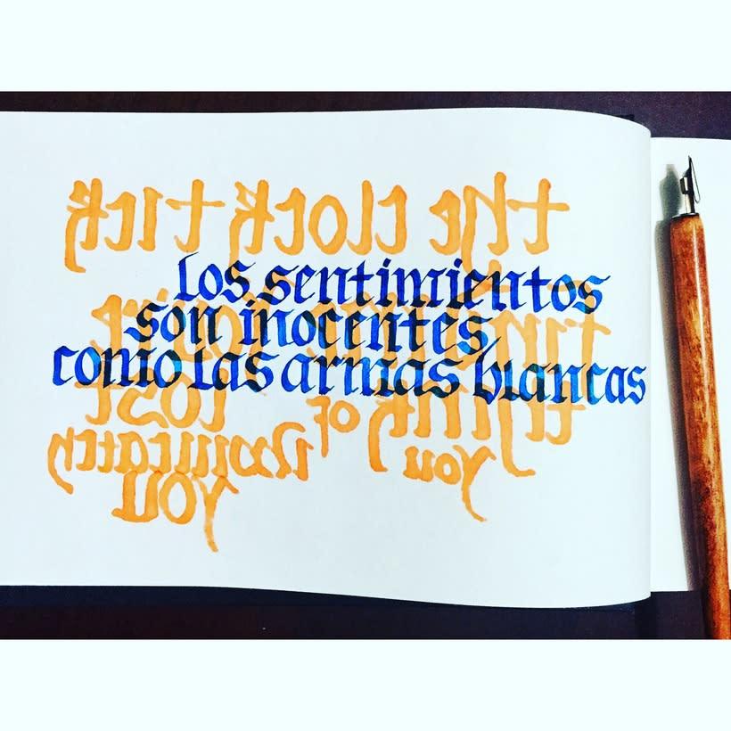 Caligrafía y lettering 2