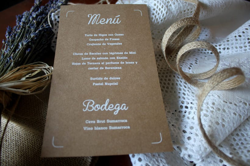 WEDDING MENU 1