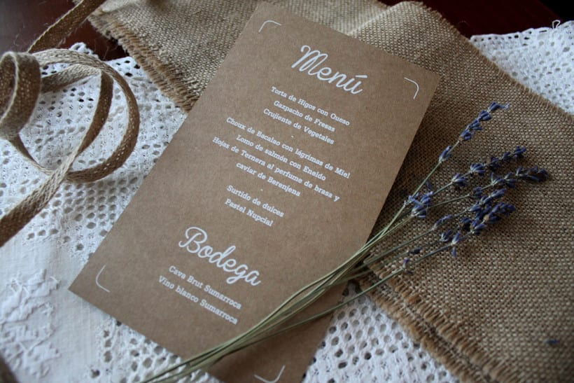 WEDDING MENU 4