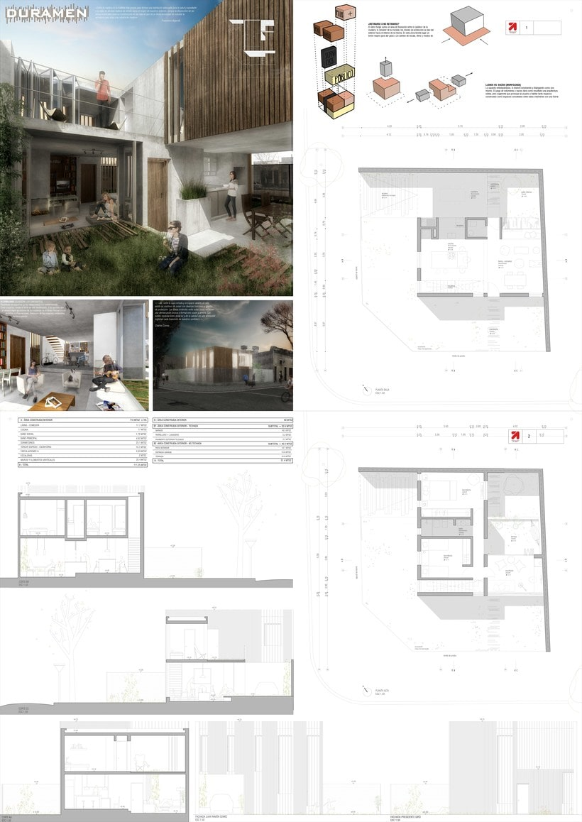 Concurso de Vivienda 2016 - Casa Arquitectura Rifa  0