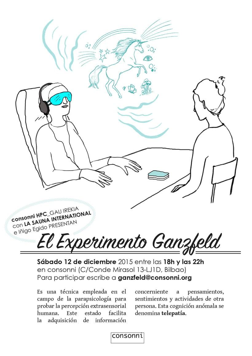 Experimento GANZFELD 3