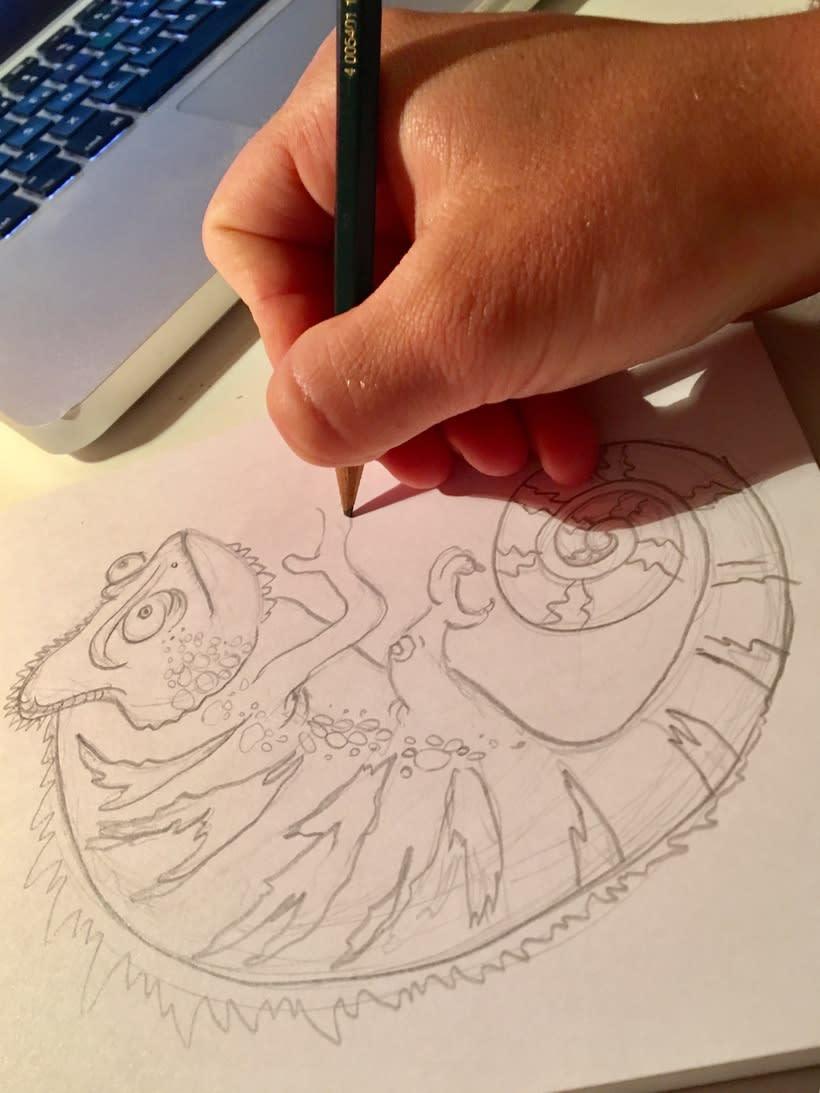 Camaleon - Ilustración 0