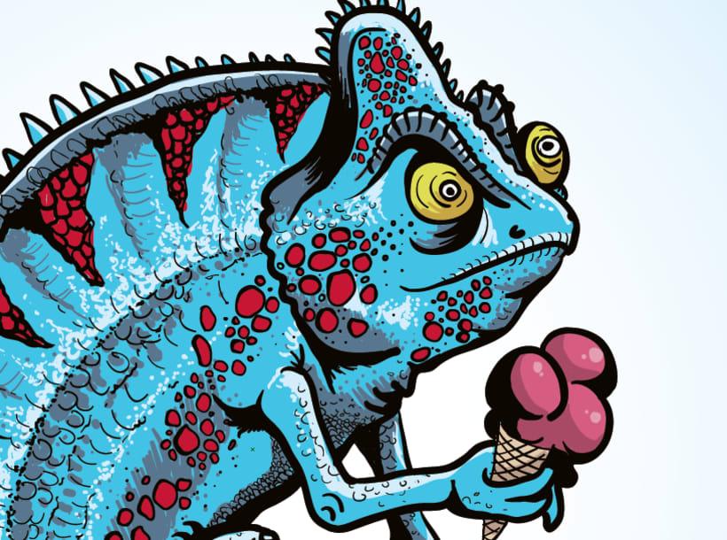 Camaleon - Ilustración 1