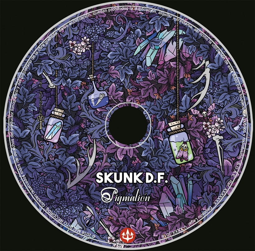 Digipack Skunk DF-Pigmalión 1