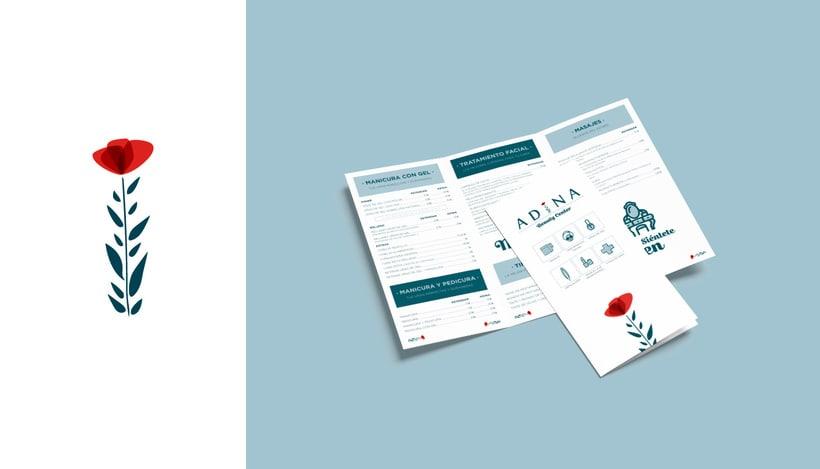 Diseño publicitario | ADINA 2