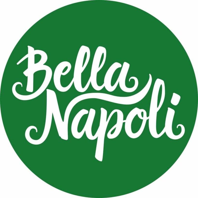 Logotipo Restaurante Bella Napoli 6