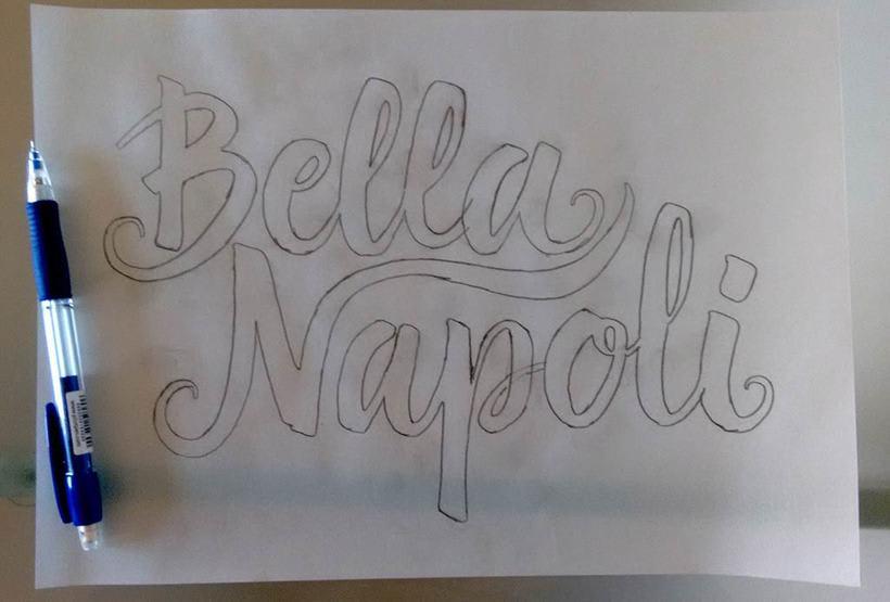 Logotipo Restaurante Bella Napoli 4