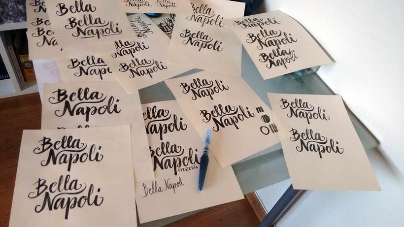 Logotipo Restaurante Bella Napoli 0