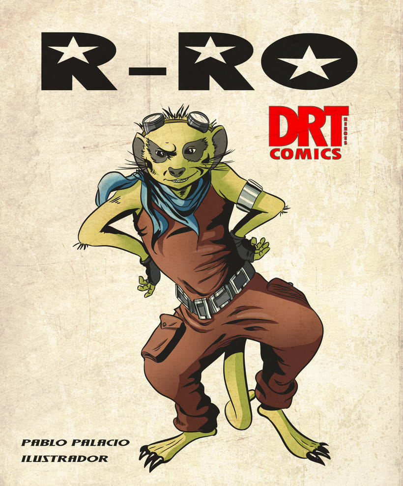 Ilustrador dibujante freelance estilo comic Marvel clasico 1