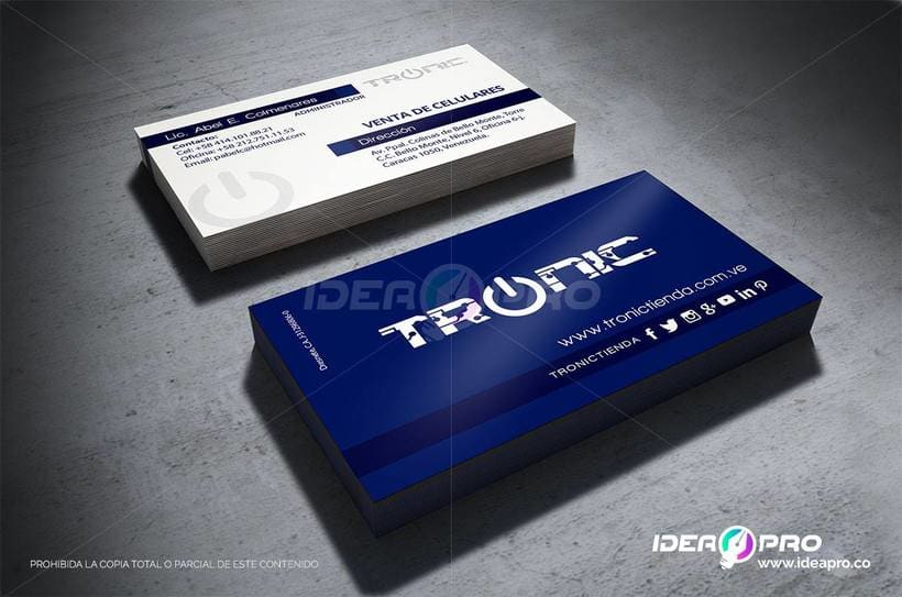 TRONIC / IDENTIDAD CORPORATIVA 6