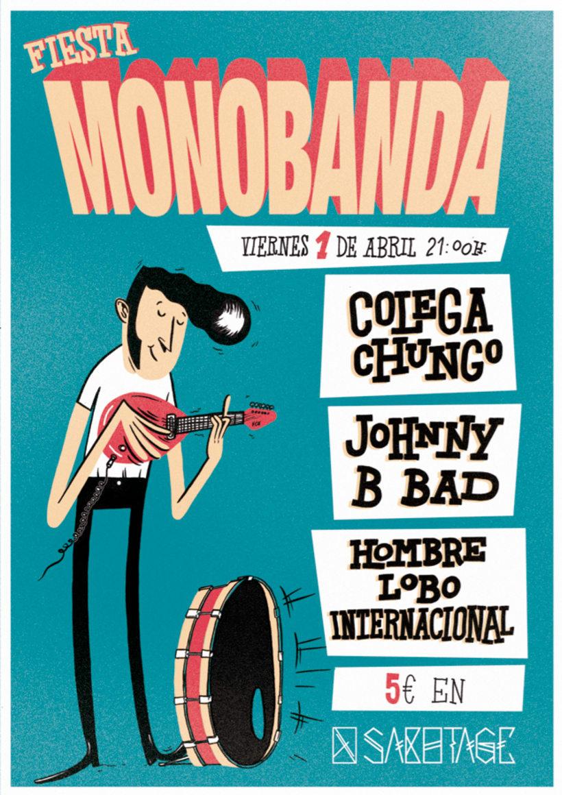 Monobanda Party 4