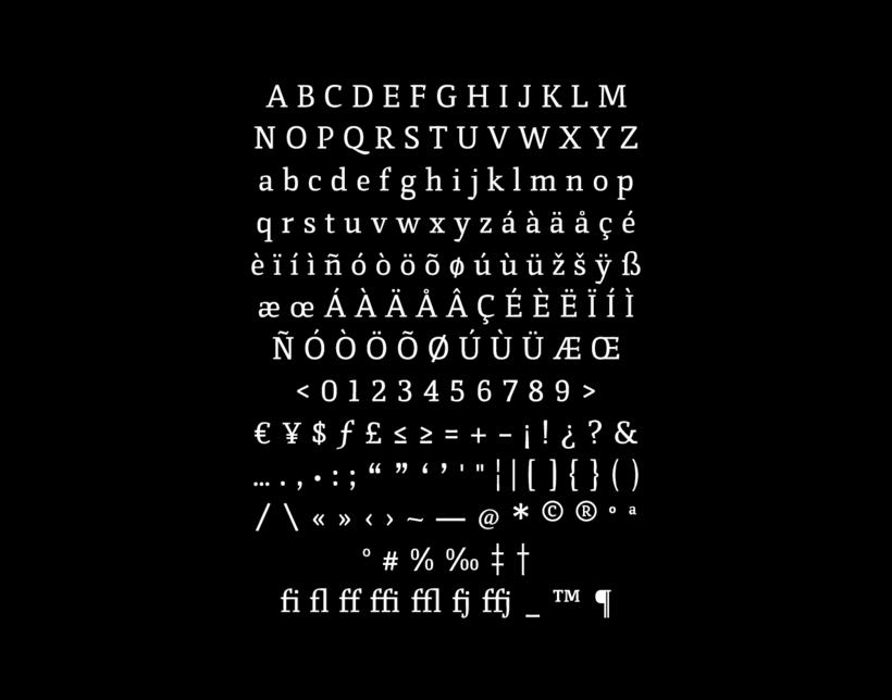 Vórtice Typeface 5