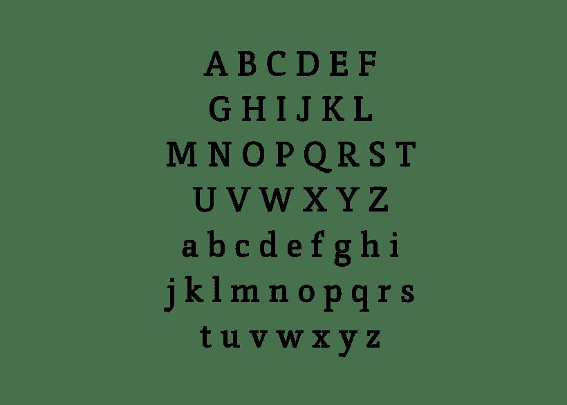 Vórtice Typeface 4