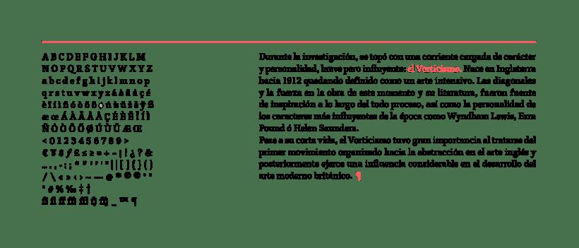 Vórtice Typeface 8
