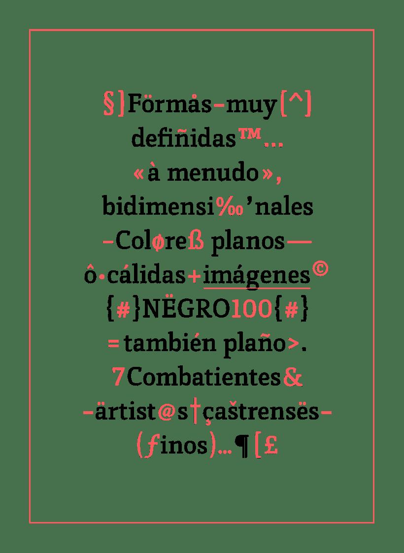 Vórtice Typeface 9