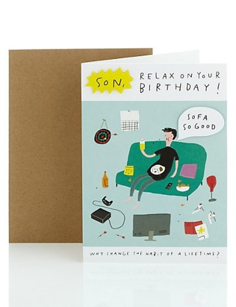Humour Greeting Cards M&S 2