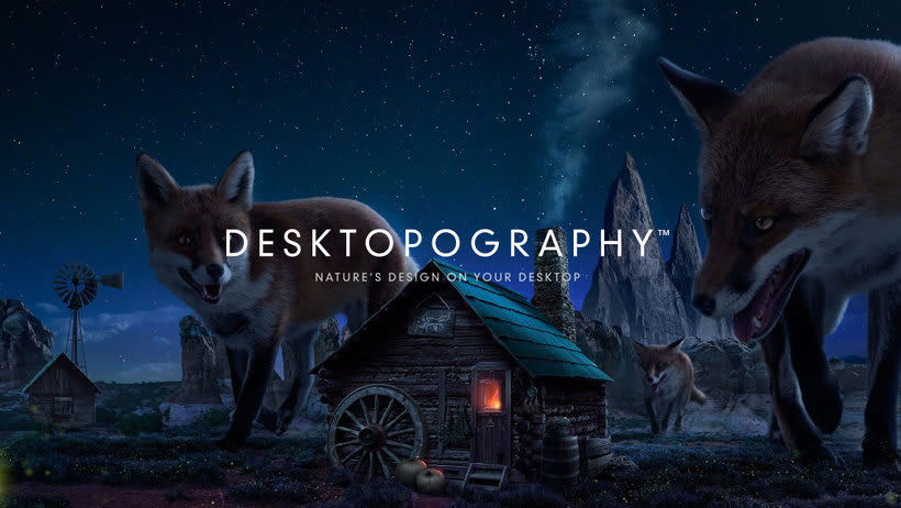Desktopography, wallpapers gratuitos por y para diseñadores 0