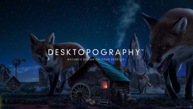 Desktopography, wallpapers gratuitos por y para diseñadores 0