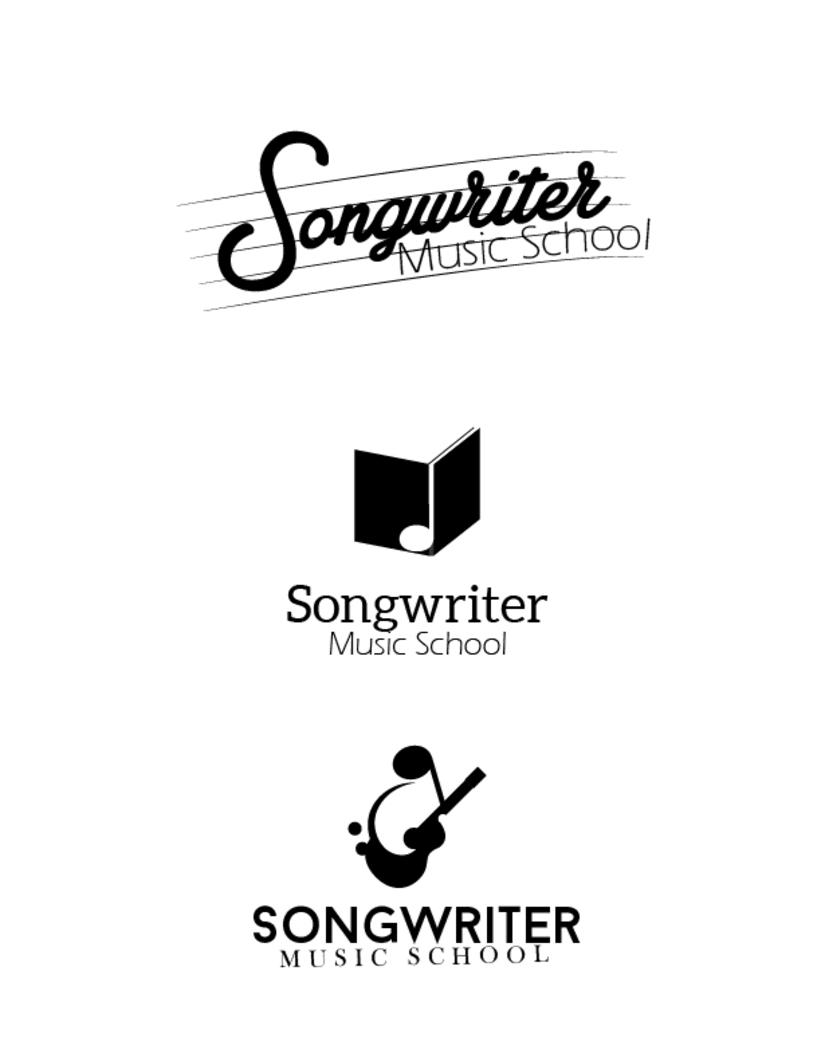 Logo Songwriter´s Escuela de Música 3