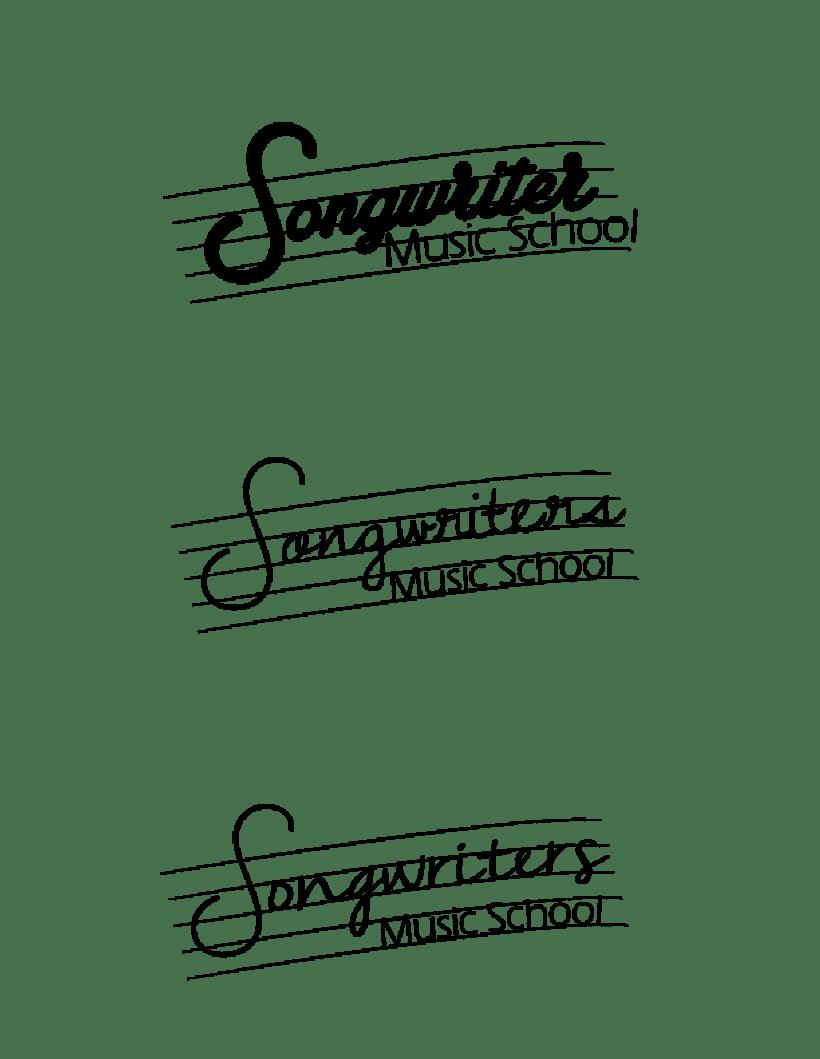 Logo Songwriter´s Escuela de Música 4
