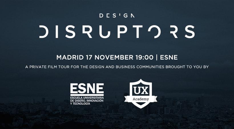 [Evento] 'Design Disruptors' Premiere in ESNE | Madrid 1