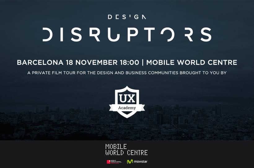 [Evento] 'Design Disruptors' Premiere in Mobile World Centre | Barcelona 1