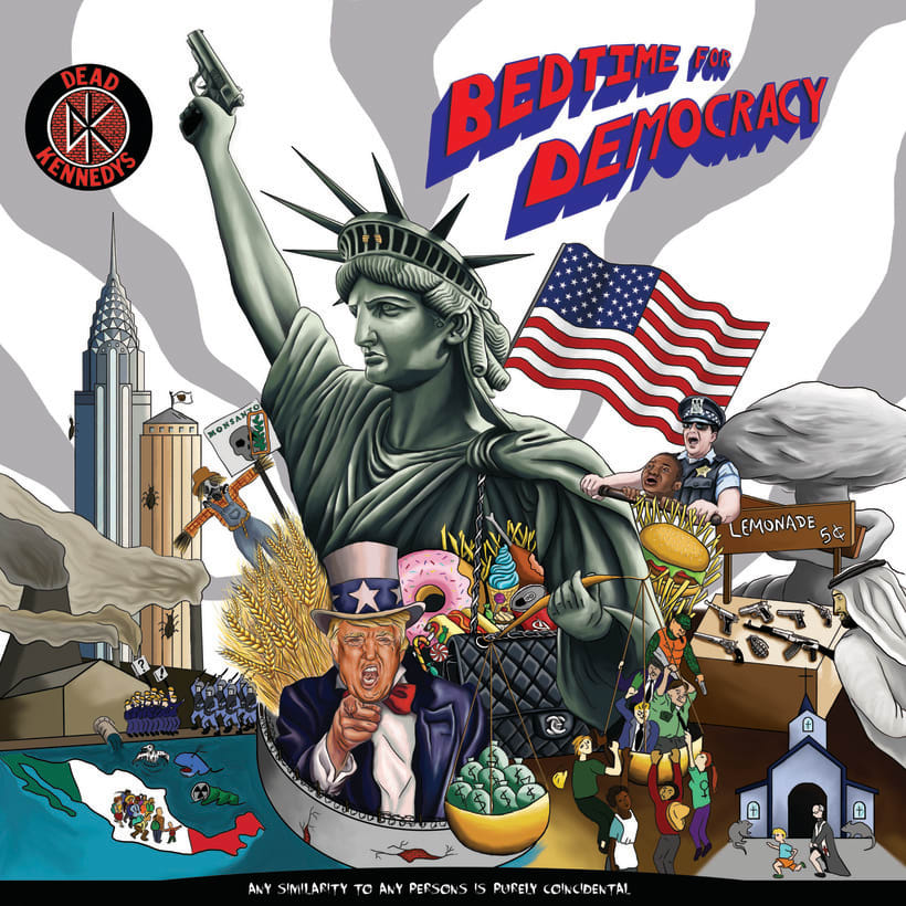 Bedtime for Democracy (Dead Kennedys) -1