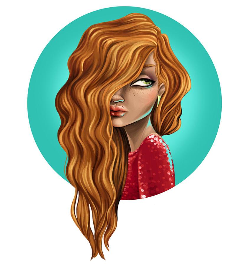 La Chica de Rojo 0