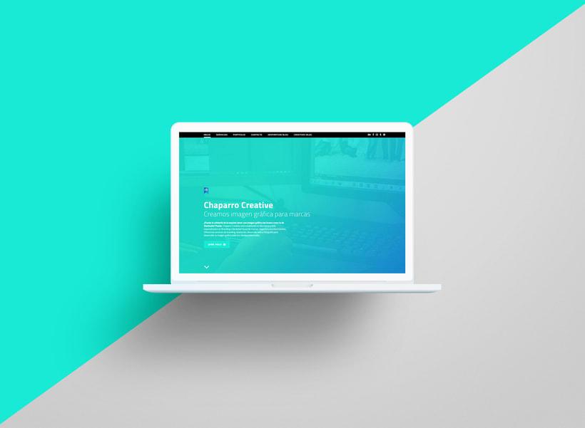 Chaparro Creative | Creación de una web profesional con WordPress 1