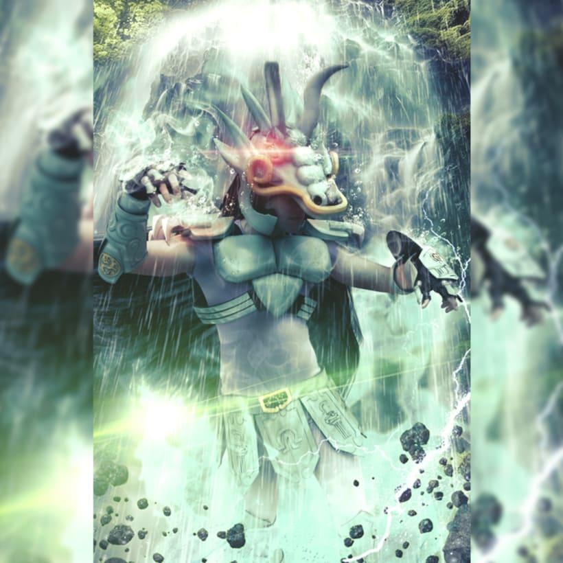 Fotomanipulación Cosplay EAADIM Caballeros del Zodiaco -1