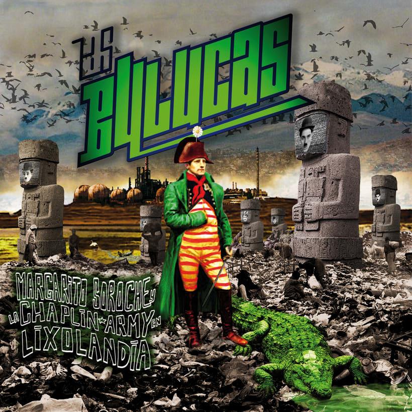 portada disco musical+ logo LAS BULUCAS /cumbia-ska -1