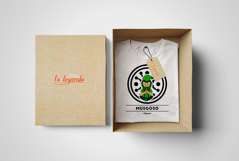 La Leyenda Camisetas 1