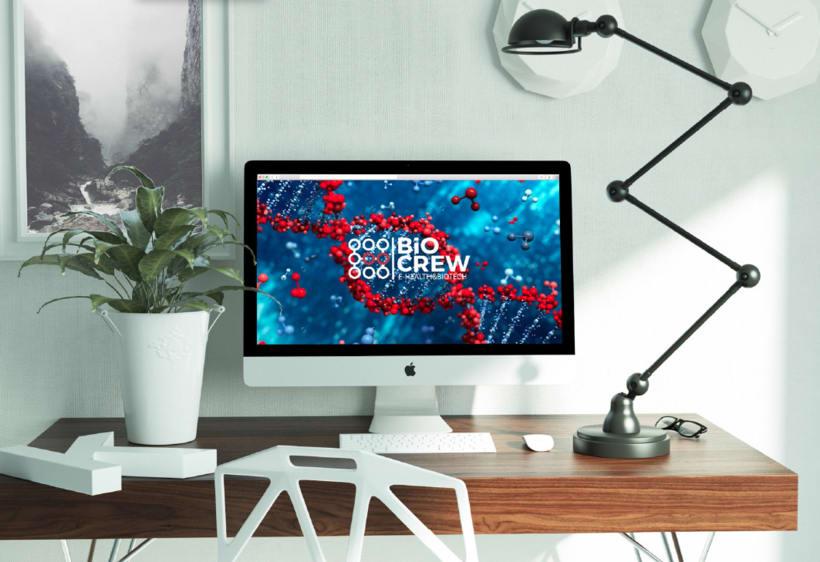 Biocrew | Identidad y web 4