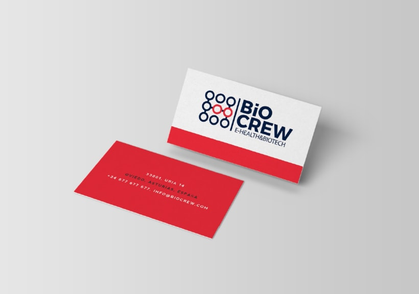 Biocrew | Identidad y web 2