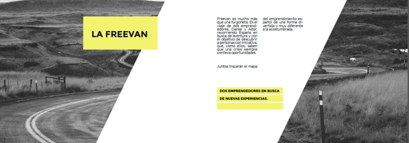 Freevan | Identidad, web, editorial 4