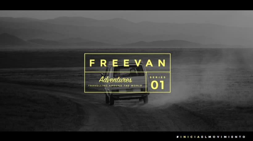 Freevan | Identidad, web, editorial 0